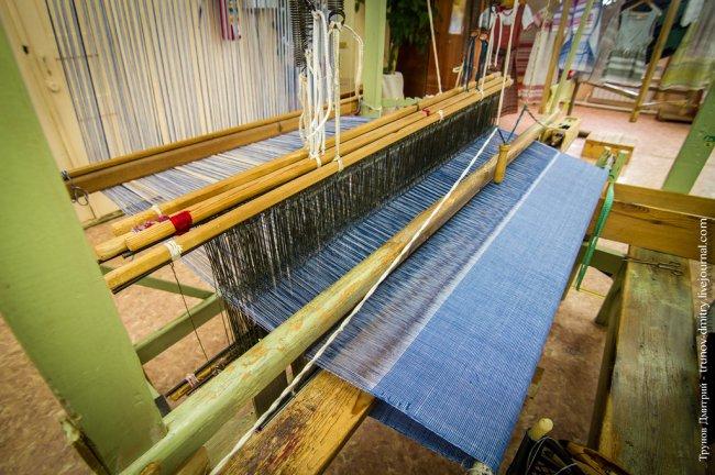 Экскурсия на алексеевскую фабрику художественного ткачества