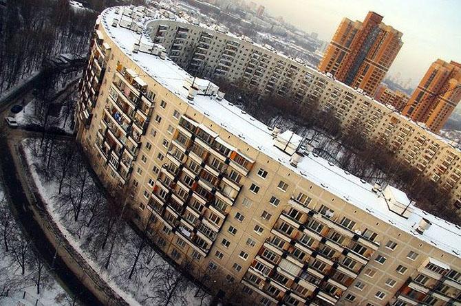 Фото необычные дома москва