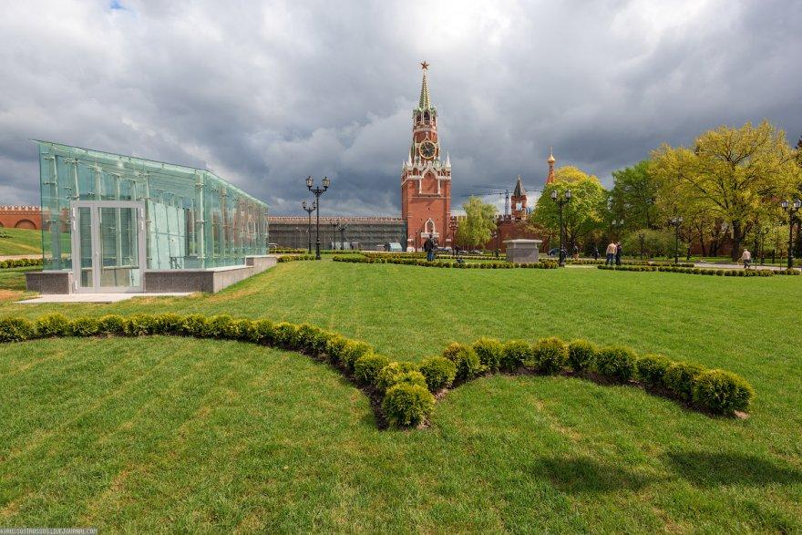 банк парк на месте 14 корпуса кремля оформление